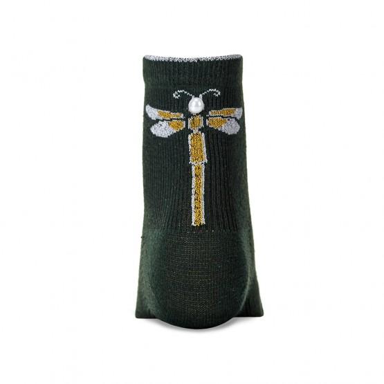 Жіночі шкарпетки із сяючою стрекозою фото 4