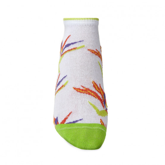 Жіночі шкарпетки сліди із соковитою квіткою Стреліцією фото 3