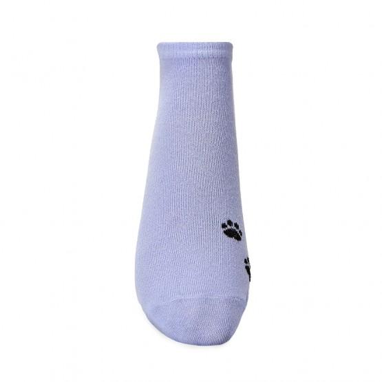 Яскраві жіночі шкарпетки сліди із лапками кішки фото 4