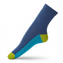 Casual socks with a colored track for children-1822