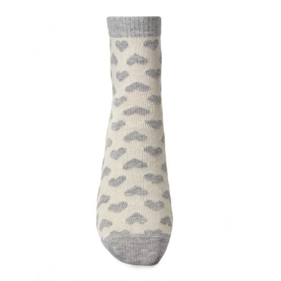 Жіночі шкарпетки із маленькими сердечками фото 2