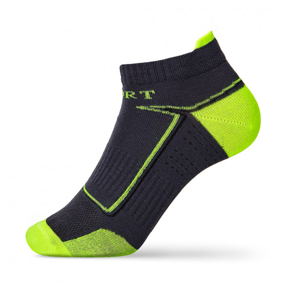 Яскраві спортивні шкарпетки сліди для чоловіків фото 1