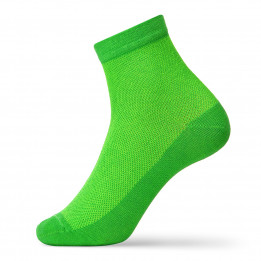 Bright men's socks with a grid-1643