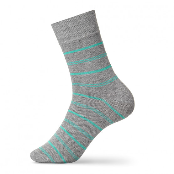 Класичні шкарпетки із яскравими полосами для чоловіків фото 2
