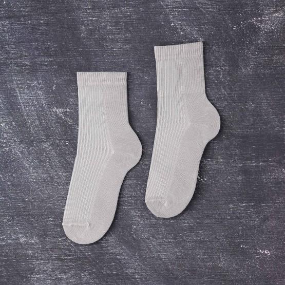 Чоловічі шкарпетки з в'язкою рубчик фото 1