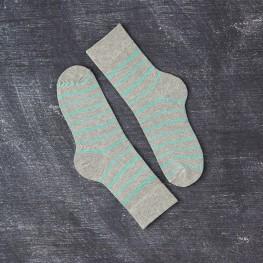 Класичні шкарпетки із яскравими полосами для чоловіків-1429