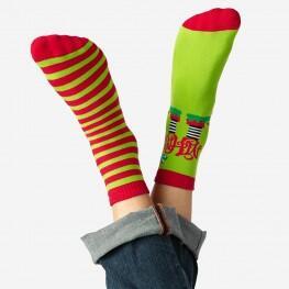 Теплі чоловічі шкарпетки Ноги ельфа (Family look)-3339