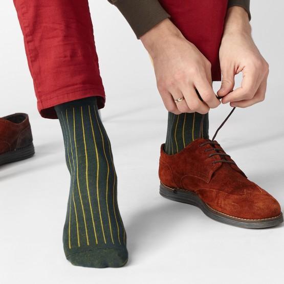 Чоловічі шкарпетком з принтом «кольоровий пропуск» фото 1