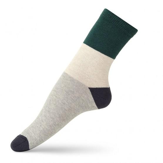 Жіночі шкарпетки класичної довжини «колорблок» фото 2