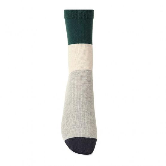 Жіночі шкарпетки класичної довжини «колорблок» фото 3