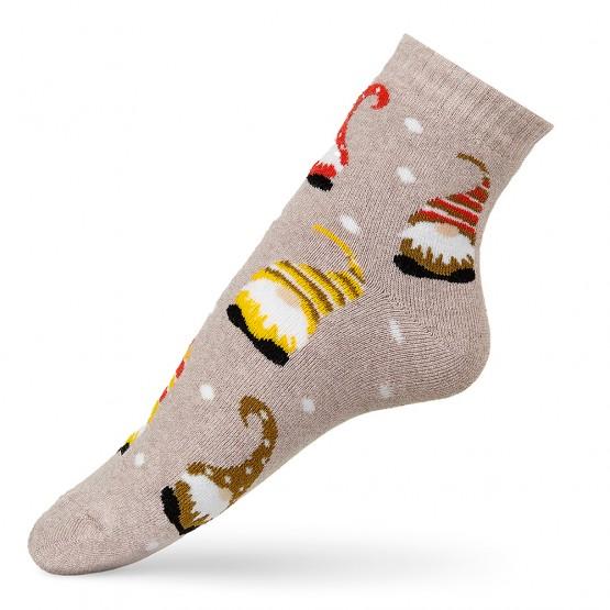 Теплі шкарпетки з гномами фото 2
