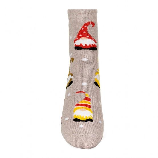 Теплі шкарпетки з гномами фото 3