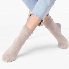 Шкарпетки жіночі з відворотом-10