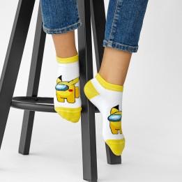 Baby socks Аmong yellow-3837