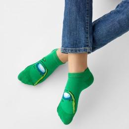 Baby socks Аmong green-3839
