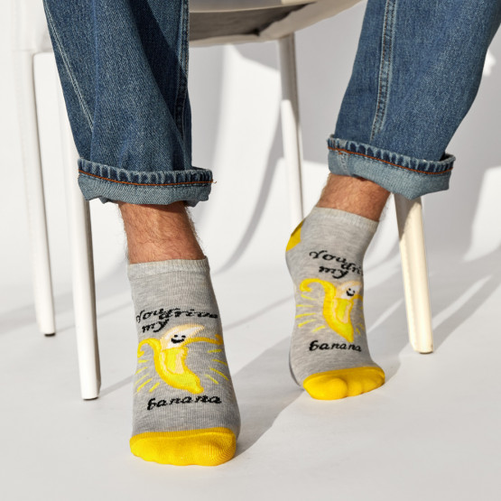 Комплект 2-х пар шкарпеток «мій банан, моя апельсинка» фото 2