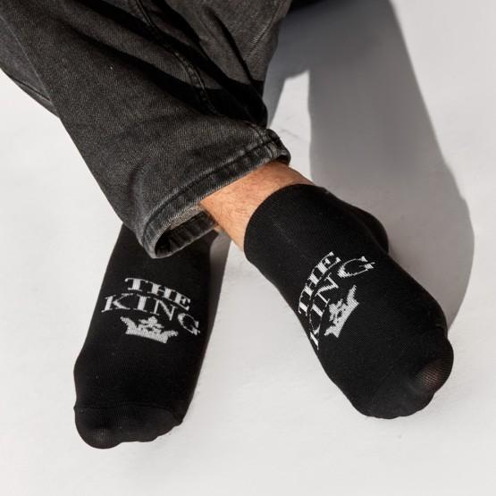 Комплект парних шкарпеток «the king» «his queen» фото 2