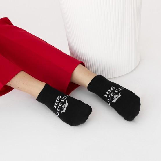 Комплект парних шкарпеток «the king» «his queen» фото 3