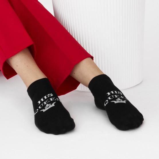 Комплект парних шкарпеток «the king» «his queen» фото 1