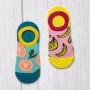 Комплект з двох пар жіночих шкарпеток Bananas+Oranges фото 2