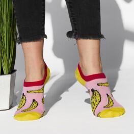 Комплект з двох пар жіночих шкарпеток Bananas+Oranges-3505
