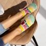 Комплект жіночих шкарпеток підслідок «Summer» фото 3