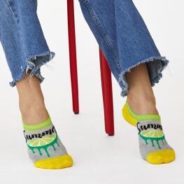 Комплект жіночих шкарпеток підслідок «Summer»-3532