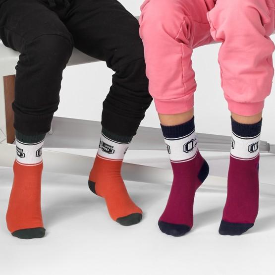 Дитячі шкарпетки у спортивному стилі з цифрами «09» фото 2