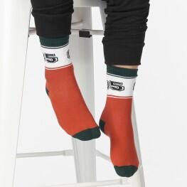 Дитячі шкарпетки у спортивному стилі з цифрами «05»-2732