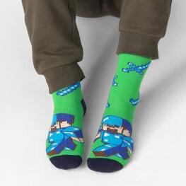 Дитячі шкарпетки майнкрафт-2277
