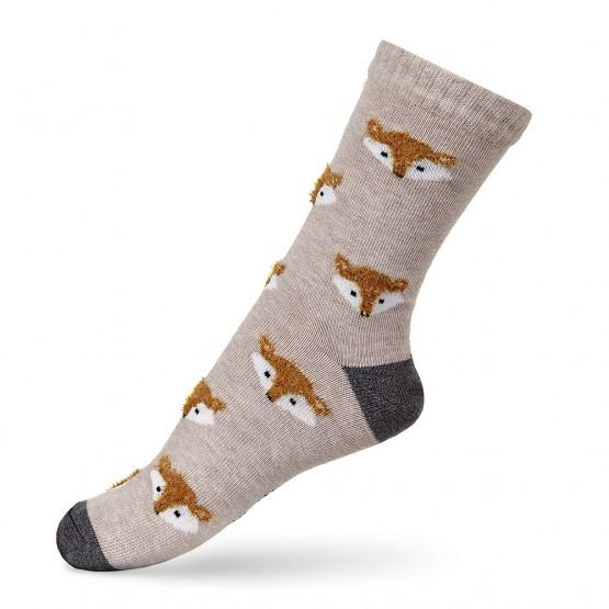 Дитячі шкарпетки з об'ємним малюнком Лисички фото 2