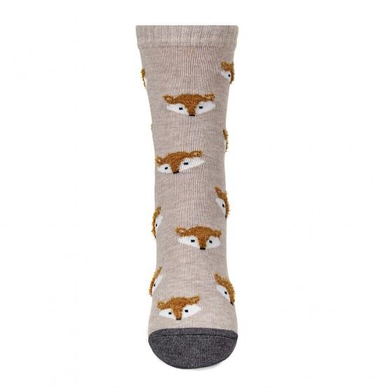 Дитячі шкарпетки з об'ємним малюнком Лисички фото 3