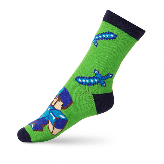 Дитячі шкарпетки майнкрафт фото 2