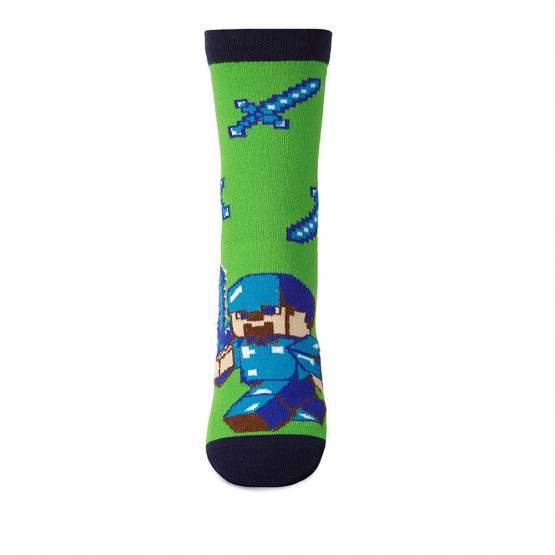 Дитячі шкарпетки майнкрафт фото 3