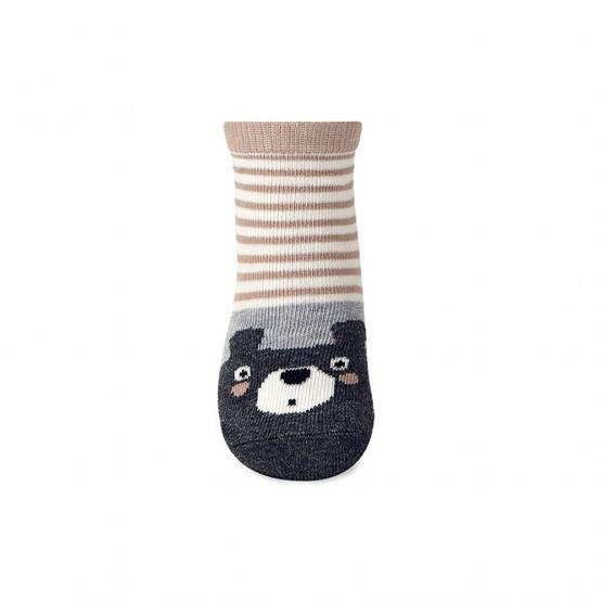 Дитячі шкарпетки для малюка з малюнком «ведмежатко» фото 3