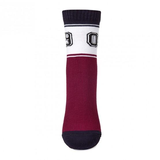 Дитячі шкарпетки у спортивному стилі з цифрами «09» фото 4