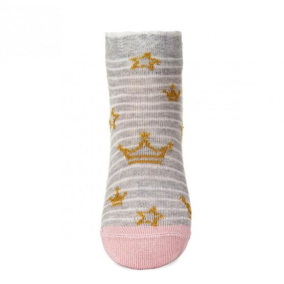 Комплект шкарпеток з 2-х пар для дівчат із лялькою LOL та коронами фото 6