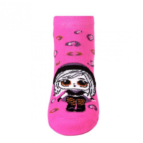 Комплект з 2-х пар яскравих шкарпеток для дівчат із лялькою LOL фото 8