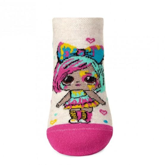 Комплект з 2-х пар яскравих шкарпеток для дівчат із лялькою LOL фото 2