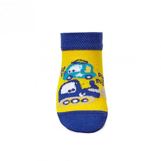 Комплект дитячих укорочених шкарпеток для малюків. фото 4