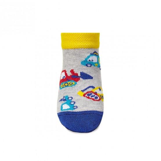 Комплект дитячих укорочених шкарпеток для малюків. фото 2