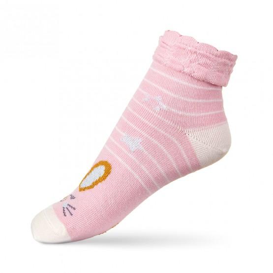 Шкарпетки для дівчаток з зайченям з люрексу фото 1