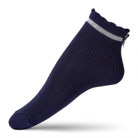 Дитячі шкарпетки в'язки лапка із бантиком над п'яткою фото 4