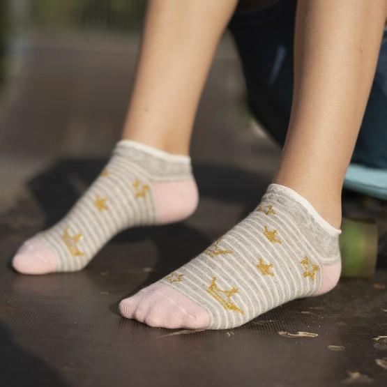 Комплект шкарпеток з 2-х пар для дівчат із лялькою LOL та коронами фото 1