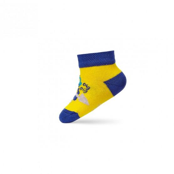 Комплект дитячих укорочених шкарпеток для малюків. фото 5