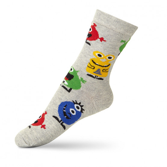 Дитячі гладкі шкарпетки академія монстрів фото 2