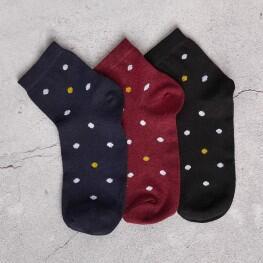 Шкарпетки для жінок із сяючими горошинами-1609