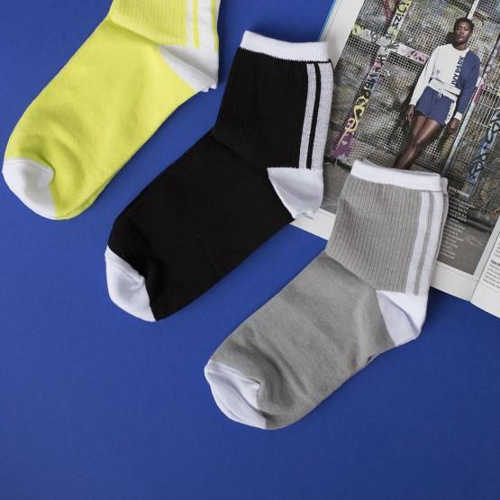 Спортивні жіночі шкарпетки із смужками фото 1