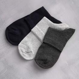 Комфортні чоловічі шкарпетки в однотонних кольорах-991