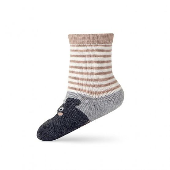 Дитячі шкарпетки для малюка з малюнком «ведмежатко» фото 2